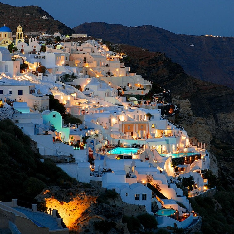 Katikies Hotel In Santorini Greece Designspot Blog